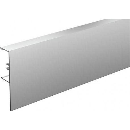Bandeau 11011 aluminium anodisé à clipser sur rail